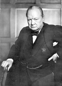 Winston Churchill 1941 photo by Yousuf Karsh